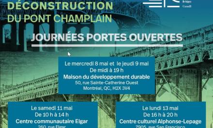 La déconstruction du pont Champlain