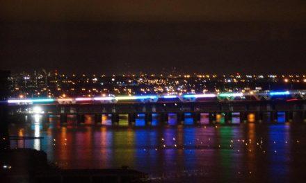 Le nouveau pont Samuel-de-Champlain sera illuminé comme son voisin, le pont Jacques-Cartier.