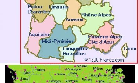 La FRANCE en dessous de la Loire….