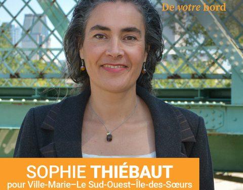 LE NPD VEUT AMÉLIORER L'ACCÈS AU FLEUVE SAINT-LAURENT À MONTRÉAL