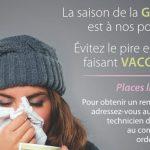 N'oubliez pas de vous faire vacciner si vous faites partie de la population à risque