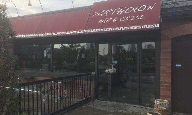 Le restaurant Le Parthenon de l'Île-des-Soeurs est fermé