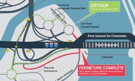 Fermeture complète du boul. René-Lévesque et du boul. du Pont Champlain du 23 août au 6 septembre