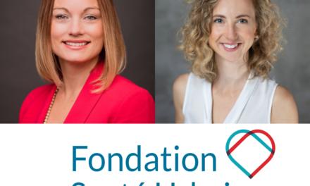 Fondation Santé urbaine: bon congé à Marie-Andrée