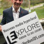 Yvan Martineau promeut Explore