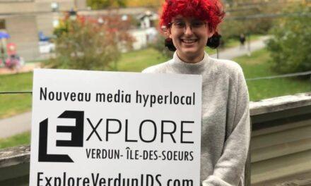 Elizabeth Desrosiers, au Cégep et informée