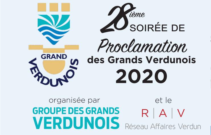 Proclamation des Grands Verdunois 2020