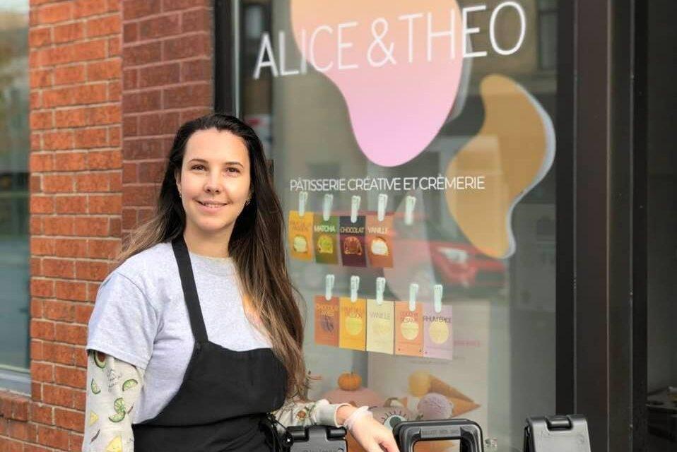Chez Alice & Theo, un chou la nouvelle pâtisserie!