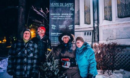 L'Harmonie Richelieu vend des sapins de Noël