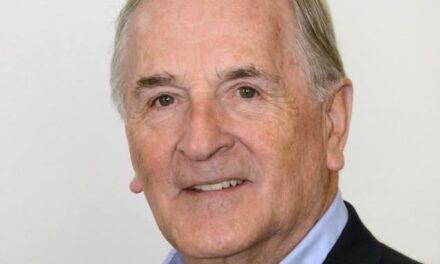 Bonne fête George Bossé, ancien maire