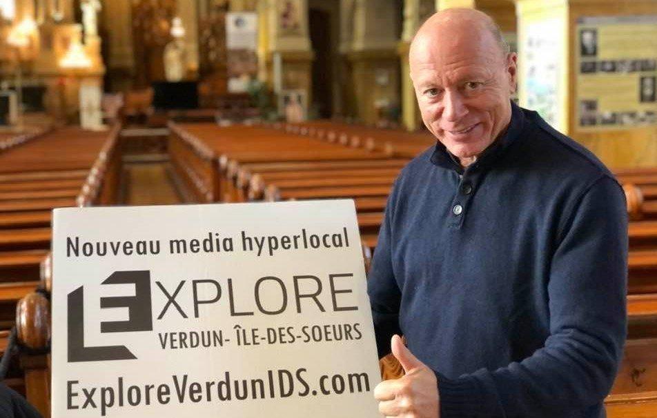 Luc Maurice, partenaire important d'Explore
