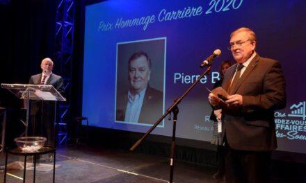 REMISE DU PRIX HOMMAGE CARRIÈRE 2020 – PIERRE BRUNET, FRANCHISÉ MCDONALD'S