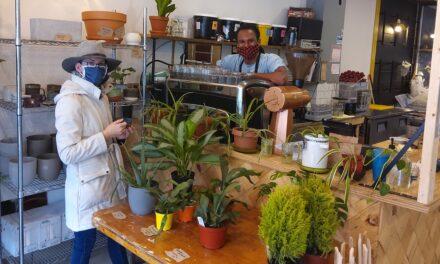 Au Café de la 5e, les poteries de Roxanne Monette