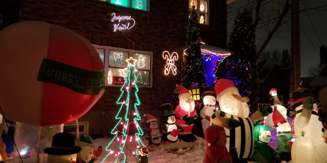Christmas Lights around Verdun