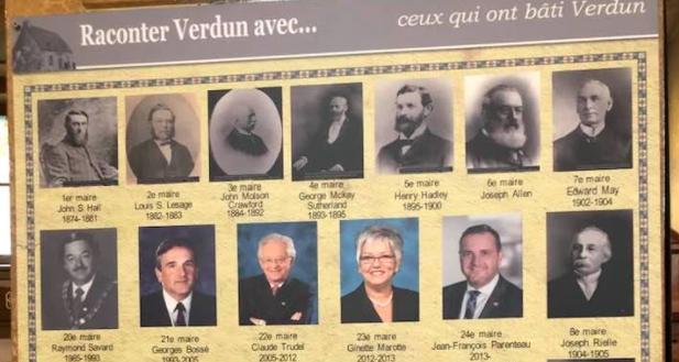 Les maires de Verdun