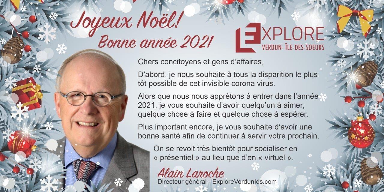 Message de saison du directeur général, Alain Laroche
