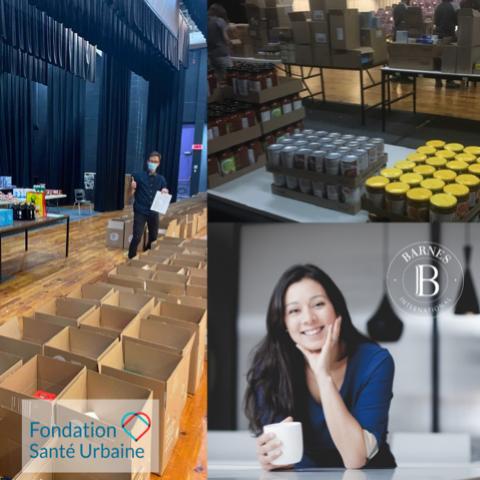 Fondation Santé Urbaine, un réconfort pour 50 familles