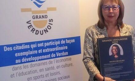 Grands Verdunois: Nicole Beaulieu et Samuel Gewurz