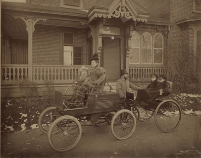 Histoire, la première voiture de Verdun