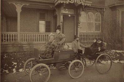 Histoire: première voiture à Verdun