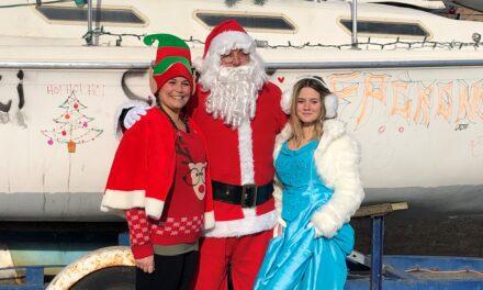 Visite du père Noël : un succès inédit