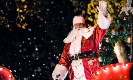 Visite imminente du père Noël à l'Île