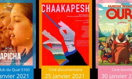 Trois projections de Ciné Verdun