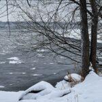 Au fleuve, la neige sera bientôt figée!