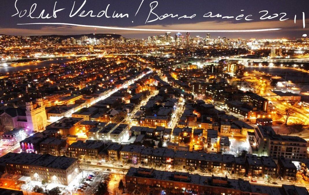 Salut Verdun ! Bonne année 2021!