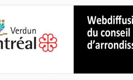 Webdiffusion du Conseil d'arrondissement
