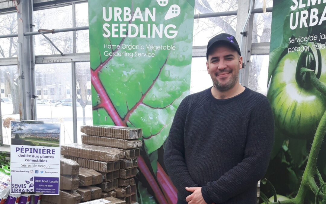Urban Seedling part of Montreal Seed Festival