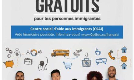 Inscription à des cours de français gratuits