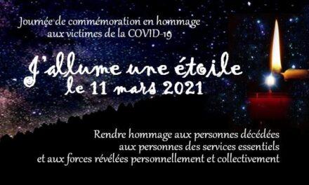 Pandémie: journée de commémoration le 11 mars