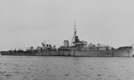 Histoire: la frégate HMCS Dunver