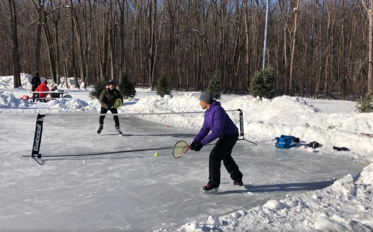 Tennis-sur-glace