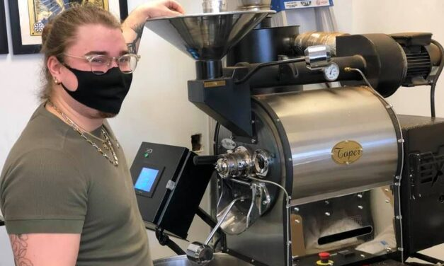 Près de 400 livres de café par jour