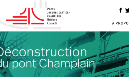 Concours de réutilisation des matériaux du pont Champlain