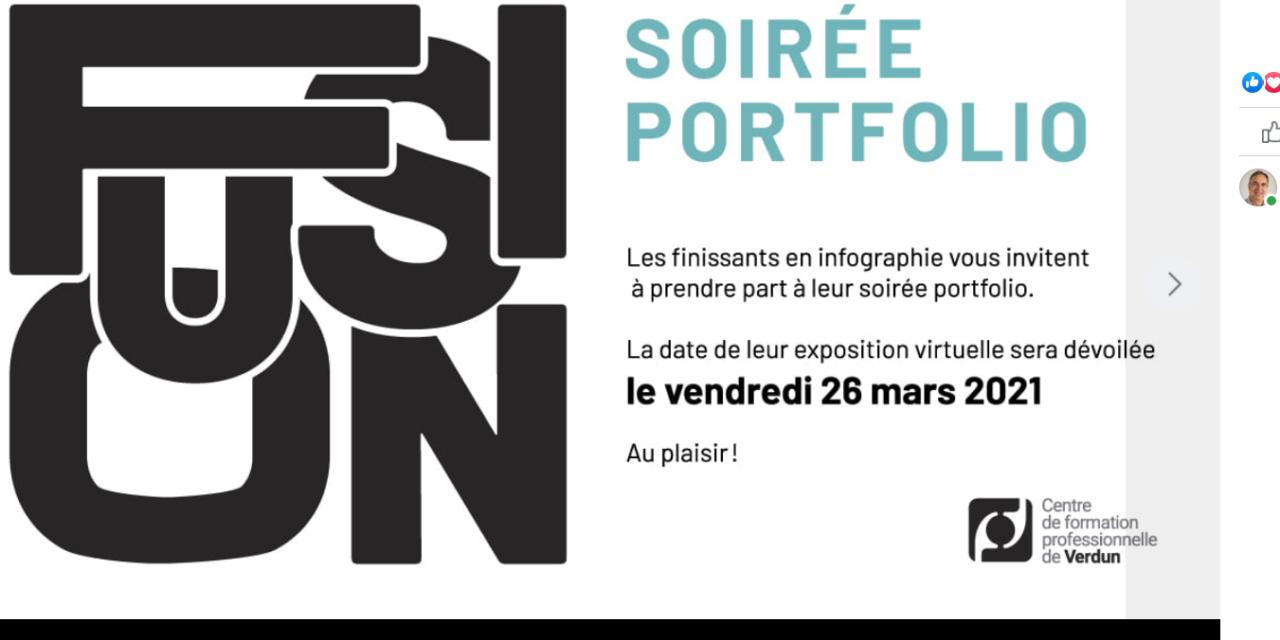 Au CFP de Verdun, vive les finissants en infographie