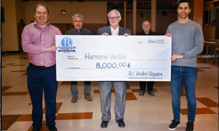 Don de 8000$ à l'Harmonie Richelieu