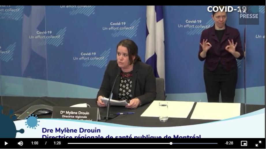 COVID: La relâche n'a pas happé Montréal