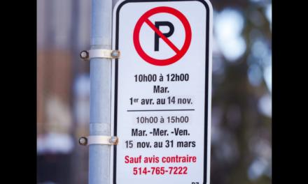 Nouvelles interdictions de stationnement