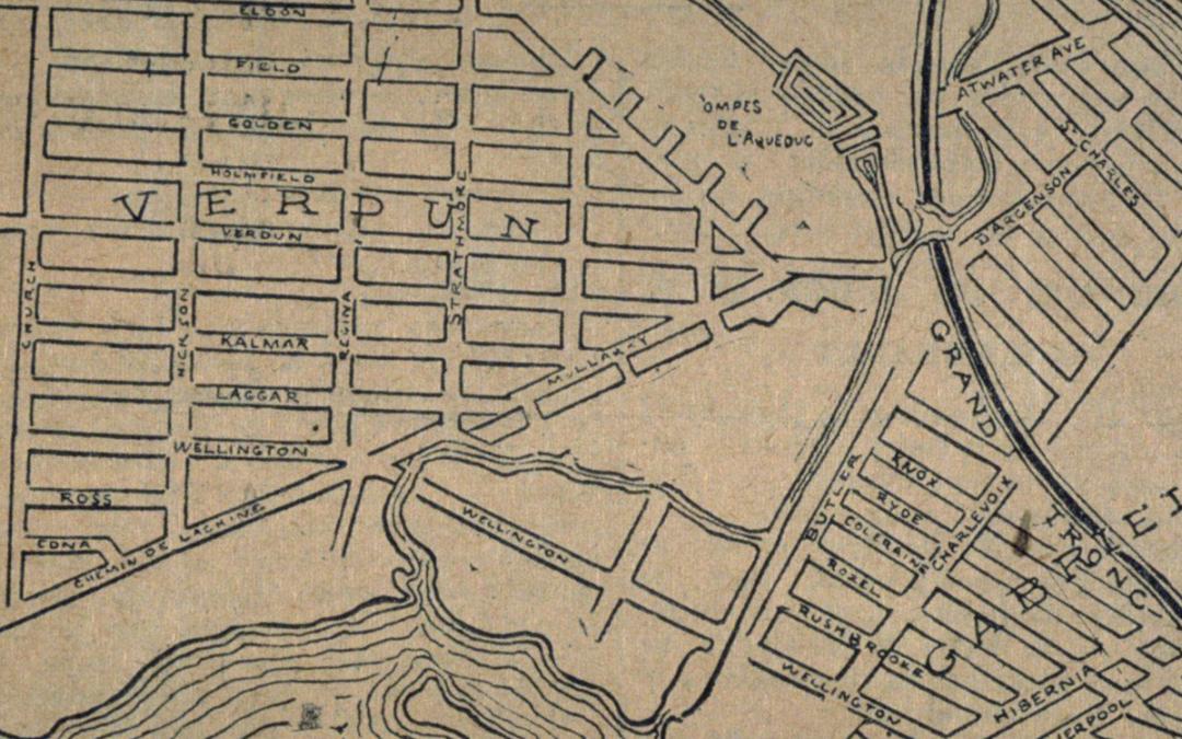 Histoire: anciens noms de rues (Circa 1870-1920)