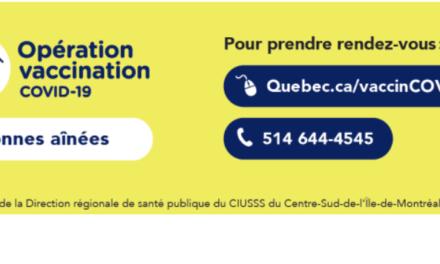 Prenez rendez-vous / take an appointment