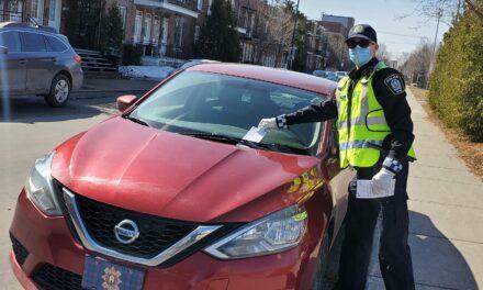 Opération Portières: prévenir le vol dans les véhicules