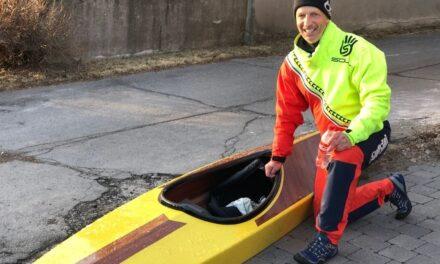 En kayak, un premier test concluant