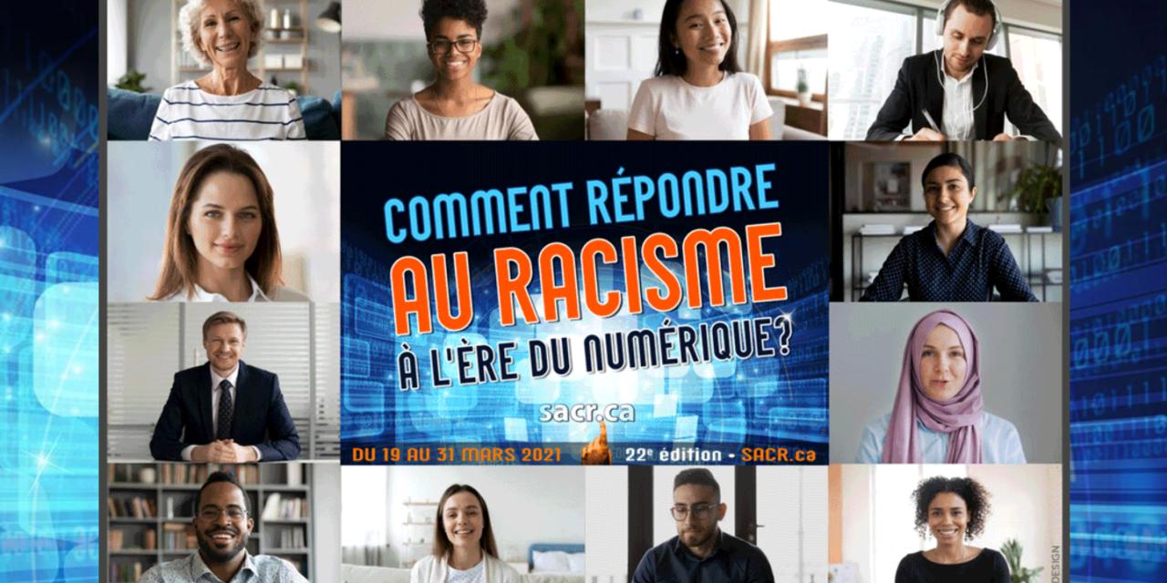 Cette semaine, soyez contre le racisme!
