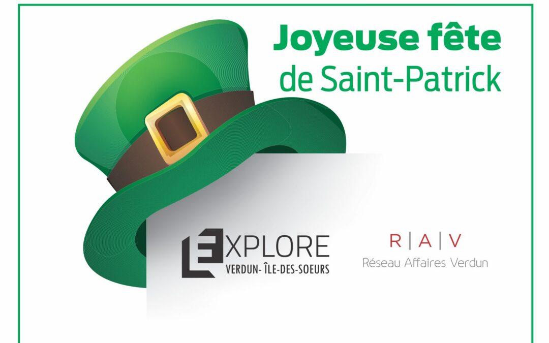 Joyeuse fête de Saint-Patrick