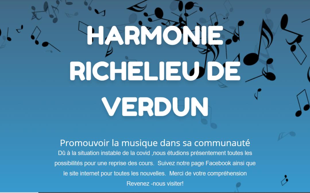 La programmation de l'Harmonie Richelieu