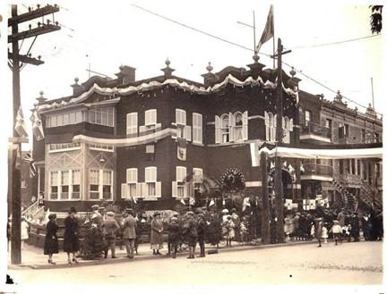 Histoire: une maison et une école