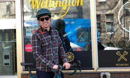 Hugo, c'est lui le héros des vélos!